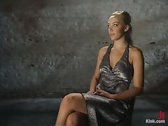 Beautiful Blonde Annette Schwarz Bondage and Sex in BDSM vid tube porn video