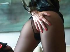 Cum On My Nylon Stockings JOI... IT4 tube porn video