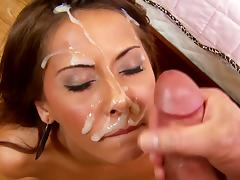 Madison ivy gives a footjob and takes cock pov tube porn video