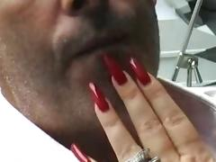 Long Nails videos. When a chick has long nails it may attract a lustful fucker for sex