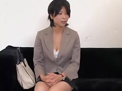 Adorable Jap gets smacked and creampied in spy cam sex clip tube porn video