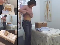 Big arse Japanese babe enjoys in voyeur erotic massage movie tube porn video