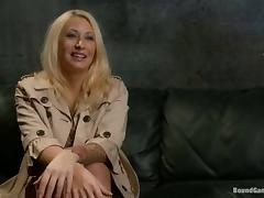 Busty Candy Manson gets bounded and gangbanged tube porn video