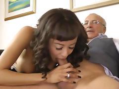 Black amateur stockings sucks an old dick tube porn video