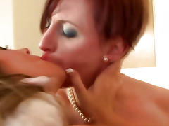 Mature british stockings in trio getting slammed tube porn video