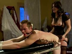 Bobbi Starr Gives Guy Torture and Face Sitting in Pegging Femdom Video tube porn video