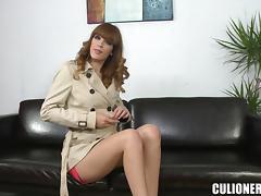 Gorgeous Carol Vega loves fucking with her condom on tube porn video