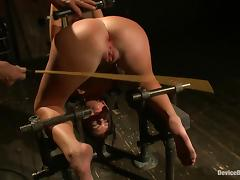 Cassandra Nix gets tormented in a basement and enjoys it tube porn video