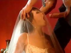 Claudia Jamsson the slutty girl in a wedding dress get nailed tube porn video