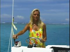 Diving sex with Katja Kean in the beautiful sea tube porn video