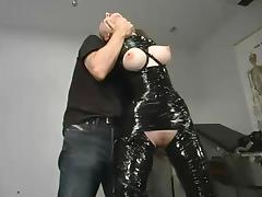 Chanta-Rose gets wrapped in adhesive tape and dominated tube porn video