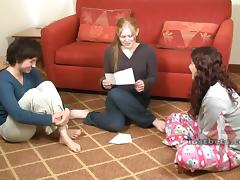 Strip Spin the Bottle with Claire Julie and Elizabeth tube porn video