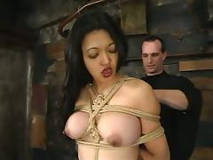 Asian Mika Tan Dominated and Tortured with Some Toying Fun Too tube porn video