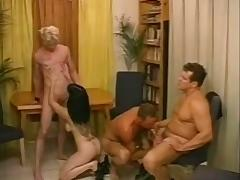 Three Bisexual Dudes Have Hot Fun With A Busty Broad tube porn video
