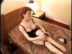 Stockings tube porn video