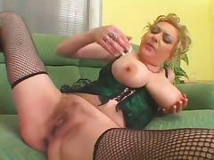 Oversize Tits Hairy Pussy Mature fucked by Bbc tube porn video