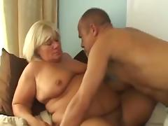 Hairy Mature BBW Fucked tube porn video