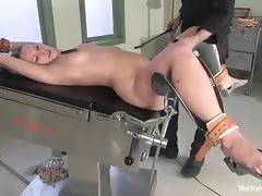Mutual understanding gets blindfolded and fucked enduring in BDSM chapter tube porn video