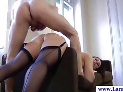 Euro matured on every side stockings gets fucked doggy flavour tube porn video