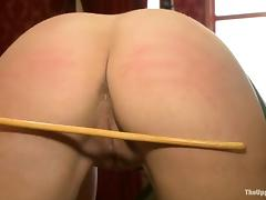 Tied up Dylan Ryan gets abashed plus toyed deep tube porn video