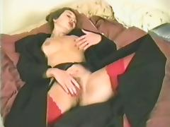 Shove around impenetrable relating to stockings satisfies yourselves relating to the bedchamber tube porn video