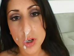 Luscious Lopez fuck with tanned Claudio Meloni tube porn video