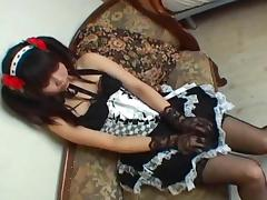 Cosplay Porn: Japanese Maid Cosplay Sex Cosmate 11 Ruri Houshou part 2 tube porn video