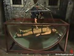 Prison guard punishes that petite blond convict tube porn video
