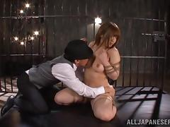 Japanese BDSM with ropes and nipple clamps! tube porn video