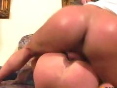 Cock-welcoming old hairy cunt tube porn video
