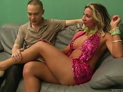 Luxury shemale makes this Asian dude love her tube porn video