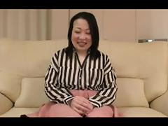 52yr old Thick Granny Nobue Ugou Creamed (Uncensored) tube porn video