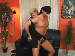 Mature whore gets dicked and facialized tube porn video