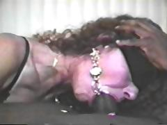 Blindfolded wife swallows black cum #3 tube porn video