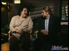 Classic vintage porn with Ron Jeremy and Peter North tube porn video
