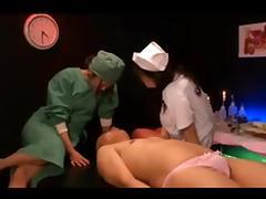 Japanese hospital femdom tube porn video