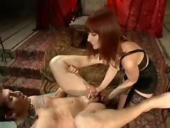 Mistresse Madeline .The Prostate Milking Queen tube porn video