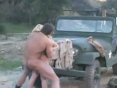 Hot soldier drilling blonde whore tube porn video