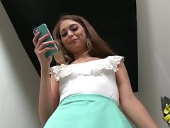 Riley Reid Flashes Her Thong and Natural Tits Backstage tube porn video