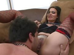 Crissy Moon fucks hard with muscular Vince Ferelli tube porn video