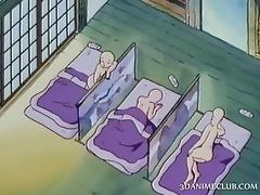 Naked anime nun having sex for the first time tube porn video