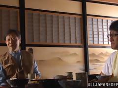 Ayano Murasaki  mature Asian lady enjoys hot oral sex tube porn video
