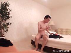 Busty Japanese milf enjoys a hard fucking sex date tube porn video