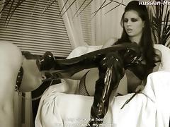 Russian-Mistress Video: Amy tube porn video