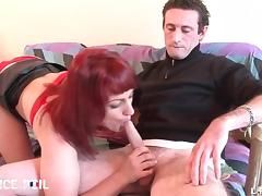 French redhead slut gets her ass pounded tube porn video