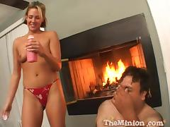 Gorgeous Riley Brooks Shares A Food Fetish With A Fat Man tube porn video