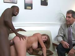 Darla Crane is fucking with a black man tube porn video