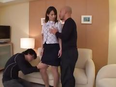 Wild Threesome With A Babe Treated Like A Fuck Doll tube porn video