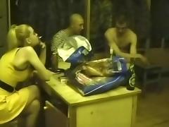 Amateur slut fucks and sucks 7 men tube porn video