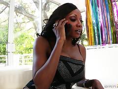 Diamond Jackson lets Toni Ribas fuck her black asshole tube porn video